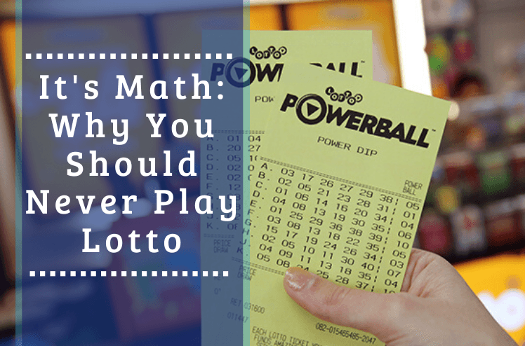 Odds of winning lotto powerball it's maths- why you shouldn't play lotto.